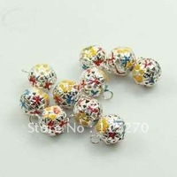 100 pcs Christmas 12MM Cartoon Jingle Bells Fit Festival/Party/Pet's Decoration FREE SHIPPING 0120921001 (7)