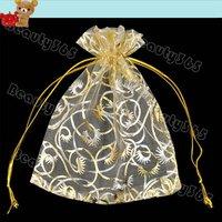 500pcs/Lot Sheer Organza Packing Jewelry Bag, Wedding Gift Bags&Pouches Free Shipping 4908