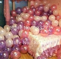 100PCS Wedding,Holiday,Party Ladex Balloons,Pearl Balloons-Free Shipping