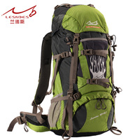 Outdoor professional mountaineering bag 50l waterproof 45l 5 backpack rain cover