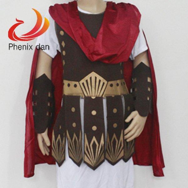 Gladiator Roman Warrior Soldier Costume Kids