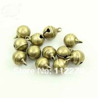 Free shipping 100 pcs 10mm copper Jingle Bell Fit Christmas Festival party DIY accessories  0120921003 (3)