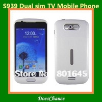 S939 4.0''TFT touch screen Dual sim Dual camera metal case unlocked phone