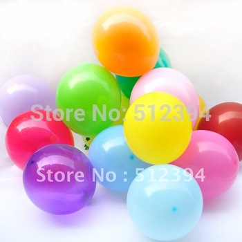 "Balloons 12"" Thick latex balloon Decoration balloon for party,hotel,wedding,carnival"