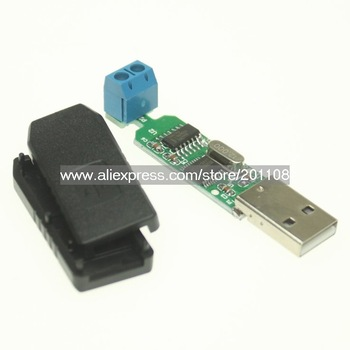 F639A ch340T chip Support 64-bit Win7 USB to RS485 Converter Adapter