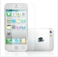 new +Free shipping+ 1000x clear screen protector guard for iphone 5 5G 5th,with retail package,high quality