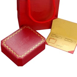 French Renowned Luxurious Jewelry packaging,Fresh Red Color,Contain 3 Items,Paper Bag,Box and Certificate.A Joy Gift To Receive(China (Mainland))