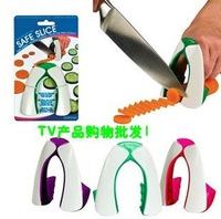 Fress shipping, New Safe Slice non slip soft grip Knife Guard Finger Protector Cover Cut vegetable protector,as seen on TV,10PC