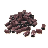 Wholesale 3000pcs #180 Sanding Bands For Manicure Pedicure Nail Drill Machine ,Free Shipping