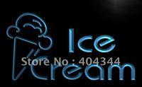LB462- Newest Ice Cream Shop Cafe Logo Neon Light Sign    hang sign home decor shop crafts led sign