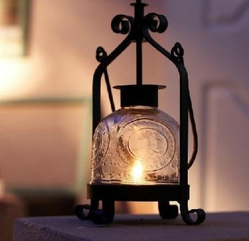 Black Accent Candle Lantern for Wedding Decoration Party Stuff Favors Gifts Supplies Free Shipping Hot Sale