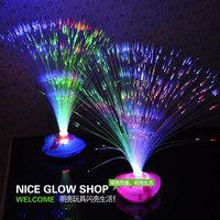 Luminous bouquet three-color mantianxing fiber optic bountyless luminous decorations light-up toy props