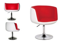 Height Adjustable Bar Stool Round Shape with Flat base