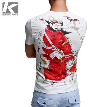 Chinese prints comfortable t-shirt Men T-Shirt short sleeve mt-9906