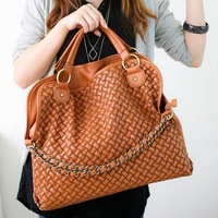 Latest Women WovenTote/ Luxuriour Design/Well Organized Interior/ Superior Walkmanship/Ample Capacity Handbag/ Free Shipping