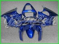 2 Gifts+blue flame ABS fairing kit for Ninja ZX-6R 98-99 Ninja ZX 6R 98 99 ZX6R 1998 ZX6 R 1999 KG16