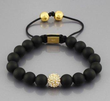 Retail/Wholesale Shamballa Jewelry Shamballa Strand Bracelet Made in Hollywood Micro Pave CZ crystal Disco Ball Bead N-YB093