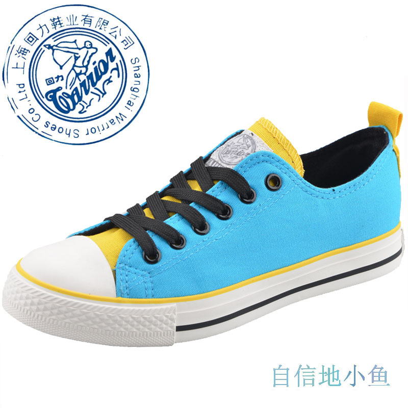 Warrior 2012 Canvas Sneakers Shoes Low top Lace up for women Women's Discount Classic Shoes Exclusive(China (Mainland))