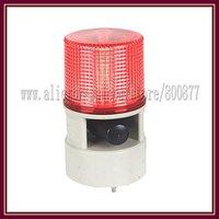 LED Alarm beacon light with 10W Siren  Speaker, DC12/24V, AC220V, 4 flash patterns, 7 sounds, watherproof, PC lens (TBD-S125DL)