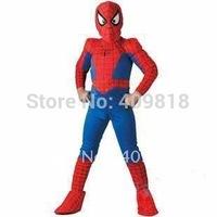 Halloween Children's clothing,Kids Halloween mascot spiderman costumes,children Spider-Man costume