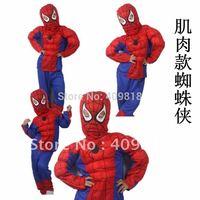 High Quality Kids Halloween mascot Spiderman costumes for kids ,kids spiderman costume