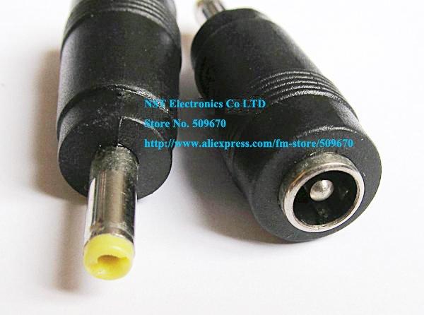 Livraison gratuite/10 pcs/haute qualité 5.5x2.1mm 4.0x1.7mm femelle à mâle pour sony psp, ordinateurs portables asus adaptateur secteur nouveau