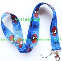 1pc Spiderweb Mobile Phone LANYARD Neck Strap Charms 01