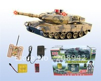 Best selling!! Funny RC Infrared Remote Control Battle Tank Model Toys with Sound Children educational toy Free shipping,1pcs
