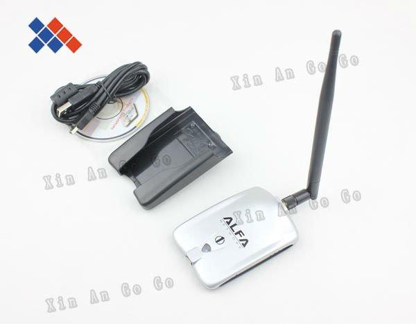 High power ALFA AWUS036H 1000mw wifi network card usb adapter 5db antenna Realtek8187L Chipset Free shipping(China (Mainland))
