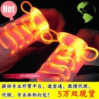 Hot-selling led shoelace flash shoelace led shoelace opp bags packaging