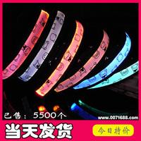 El luminous dog flashing dog collar pet supplies collar 6 colors