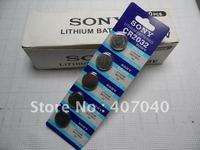 Lithium  3V CR 2032 Coin Battery  Batteries For SONY