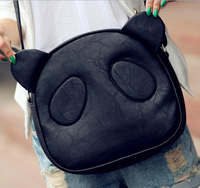 2012 autumn female bags fashionable casual bag cartoon panda bag shoulder bag messenger bag