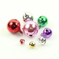 Free shipping 200 pcs mix size Jingle Bell Fit Christmas Festival party DIY accessories  0120921007 (1)