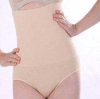 Cotton slim shapers elastic abdomen drawing pants butt-lifting slim waist high waist seamless body shaping female panties