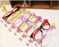 free shipping the latest hot sale acetate/plastic hello kitty boys/girs/kids/children's eyeglasses frames/eyewear accessories