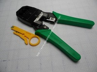 RJ45 RJ11 RJ12 Wire Cable Crimper Crimp PC Network Tool  Free shipping
