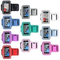 30pcs/lot, Gym Running Sport ArmBand Solf Case for apple iphone 5 5g, For iphone5 sport armband case, Free Shipping