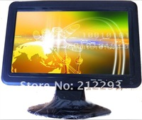 free shipping 10 inch car lcd  monitor with new led 16:9 wide panel,HDMI/AV/TV/Audio (No touch function)