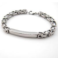 Wholesale and retail topping bracelet han man bracelet titanium steel coarse bracelet fashion bracelets T005