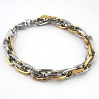 Free shipping Europe and the United States the man's bracelet fashion titanium steel bracelet T043