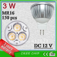Free shipping 3 Watt MR16 LED _MR16 lamps_cree LED lights searchlights