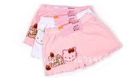 free shipping 20pcs/lot lovely children gift Cotton children underpants girls cartoon briefs Hello kitty underwear