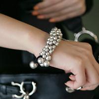 Wholesale Fashion Multi Beads Sphere Tassel Multi-Layer Bracelets Bangles Free Shipping 026
