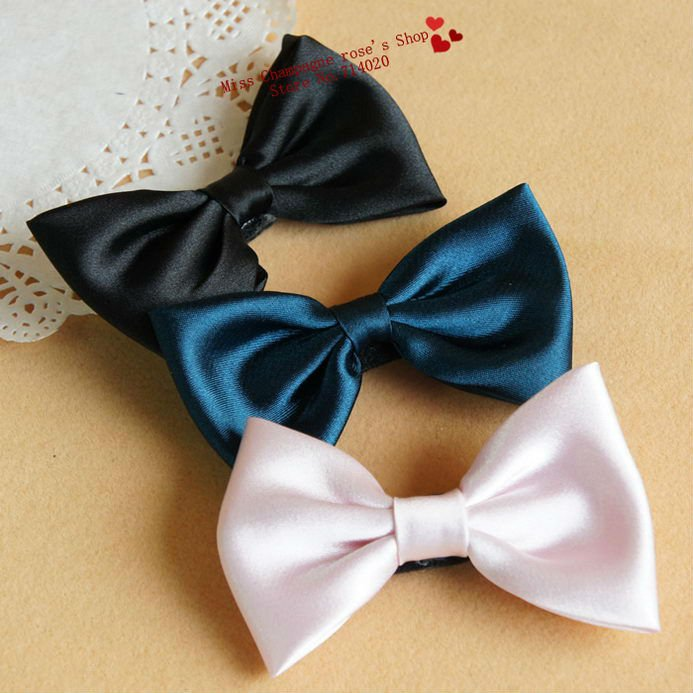 Bows patchwork cloth Hairgrips/Elastic hairgrips/Hair accessories/Headwear.Free shipping.Fascinator style.3 colors.Hot.TTF52M03(China (Mainland))
