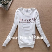 Женские толстовки и Кофты 2012, fashion, women hoodie sweatershirts, for autumn & winter, 3 colors