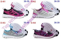 Wholesale Men&Women Brand Free Run+ 2 Running Shoes Design Shoes Unisex's shoes Running Sneakers New with box tag Free shipping