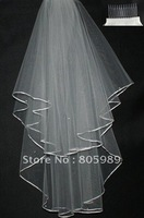 Wholesale - White &ivory  WEDDING Bridal veils GJ-0063
