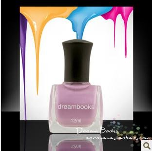 Free shipping Dream Books health oily environmental protection nail polishcandy color purple