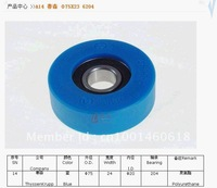 Escalator step roller 75*24 6204 for Thyssenkrupp Escalator, Blue color roller, Free shipping by Fedex
